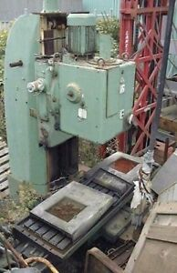 Vertical Bed type Milling Machine germany 98 Table Swivel Head Quill 13 Tons