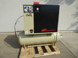 Ingersoll Rand 8 Hp Rotarty Screw Air Compressor ac2037
