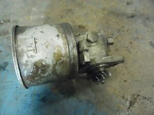 Massey Ferguson 165 Gas Farm Tractor Power Steering Pump Assembly