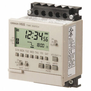 Omron Type H5s yfb2 x Digital Time Switch Counter Electronic Timer Lok 313