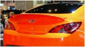 Fits Hyundai Genesis Coupe 2010 2017 Lip Mnt Factory Style Rear Spoiler Painted