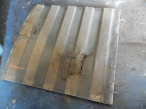Massey Ferguson 165 Gas Farm Tractor Lower Grill Screen Insert torn