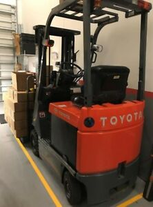 Toyota Electric Forklift Truck model 7fbcu15