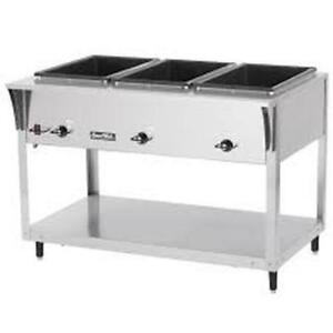 Vollrath 38213 Servewell Sl 3 Well S s Hot Food Steam Table Electric 2100w