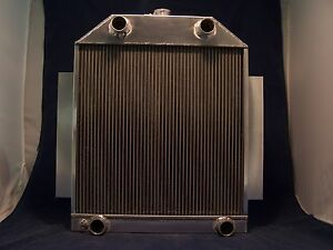 1948 1949 1950 1951 Ford F100 Truck Aluminum Radiator Made In Usa