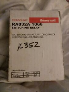Honeywell Switching Relay 120v 50 60hz Ra832a 1066