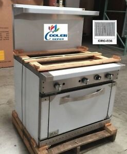 New 36 Oven Range W Broiler Stove Top Commercial Kitchen Made In Usa Nsf