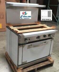 New 36 Oven Range Griddle Broiler Combo Commercial Kitchen Made In Usa Nsf