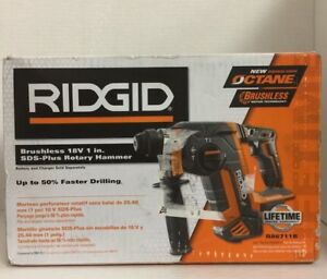 new Ridgid 18 volt Gen5x Brushless Sds plus Rotary Hammer tool only