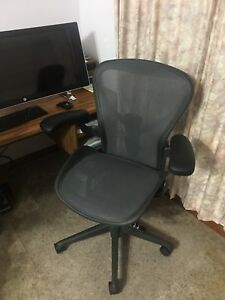 Herman Miller Aeron Size B Fully Optioned Remastered With Posturefit Sl