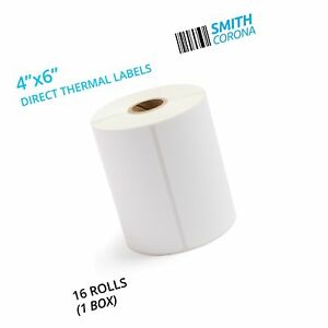 Smith Corona 4x6 Direct Thermal Labels 16 Rolls With 250 Labels roll 1