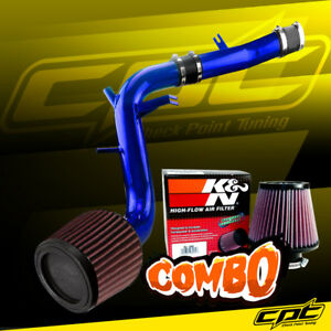 13 16 Veloster Turbo 1 6l 4cyl Blue Cold Air Intake K N Air Filter