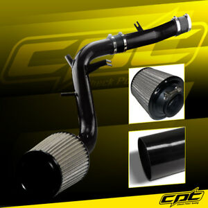 For 13 17 Veloster Turbo 1 6l 4cyl Black Cold Air Intake Stainless Air Filter