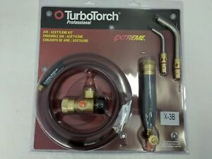 Turbotorch X 3b Acetylene Torch Kit 0386 0335 Components