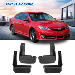 Oe Front Rear Splash Mud Guards Flaps Set Fit 2012 2014 Toyota Camry Se Only