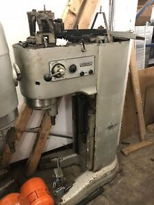 Lot Of 2 Hobart M 802 80 Quart Mixers For Parts as Is do Not Work