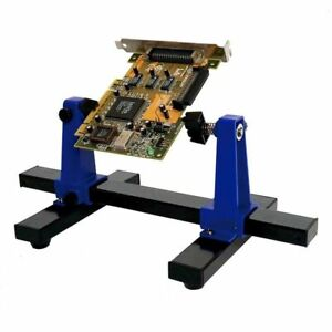 Printed Circuit Stand Board Adjustable Portable Holder Frame Clamp Repair Tool
