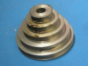 Craftsman 5 Speed Lathe 5 Speed Motor Pulley 1 1 2 4 1 4 351 217160 6f4