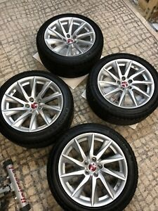 18 Jaguar F type Wheels Tires Rims Oem
