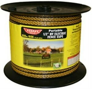 Baygard 00171 328 White High Visibility Electric Fence Tape no 171 Baygard