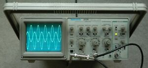 Tektronix 2225 50mhz Two Channel Oscilloscope Calibrated 2 Probes