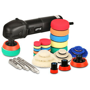 Spta 31pcs Mini Polisher Buffing Detail Polishing Pad Mix Size For Car Sanding