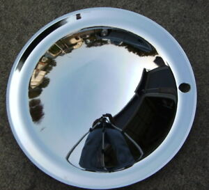 15 Full Chrome Moon Hub Caps 4 Cool Lead Sled hot Rod rat Rod low Rider