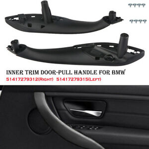 Inner Trim Door pull Handle Front Left Right Fit Bmw F30 F80 F31 F32 F33 13 17