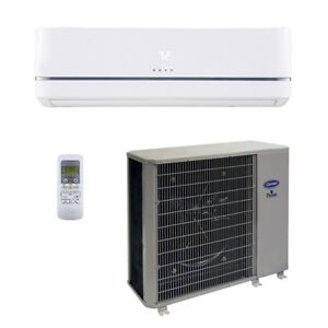 Carrier 22 000 Btu 14 Seer Single Zone Cooling System wall Mount