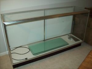 Retail Store Commercial Lighted Glass Cabinet Counter Display Case nice