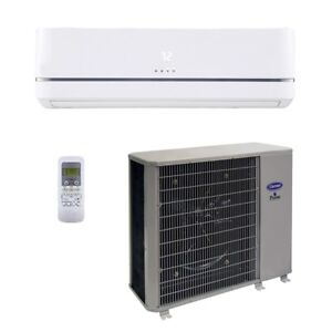 Carrier 18 000 Btu 14 Seer Single Zone Cooling System Wall Mount