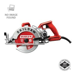 Worm Drive Circular Saw 15 Amp Corded Electric 7 1 4 In Magnesium With 24 tooth