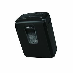 Fellowes 8 Sheet Micro cut Paper Credit Card Staples Medium Use Shredder Office