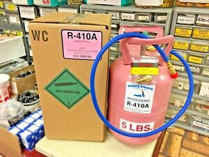 R410a Refrigerant 5 Lb Can 410a Best Value On Ebay Free Shipping Hose