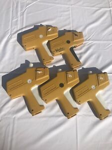 Lot Of 5 Monarch Marking 1110 Label Price Tag Slap Guns Pitney Bowes
