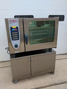 2010 Rational Combi Oven Scc62g Self Cleaning Gas With Stand