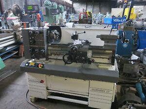Clausing Colchester Gap Bed 13 Lathe In mm With Dro Tooling