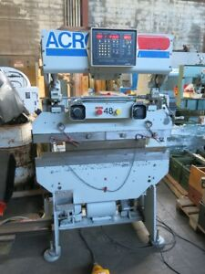 Pacific Tri acro 17 4 Cnc Hydraulic Press Brake White Diacro