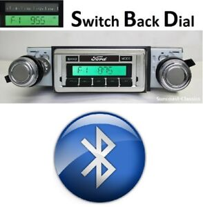 1980 86 Ford Truck Bluetooth Am Fm Stereo W Switch Back Am Face Radio 630dfb
