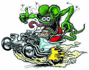 Rat Fink T Bucket Decal 5 Free Shipping