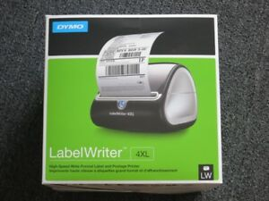 new Dymo Labelwriter 4xl Wide format Label And Postage Thermal Printer 1755120