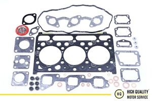 Kubota Full Gasket Set Gasket Kit With Head Gasket 1g750 03312 For D1703