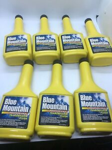 Blue Mountain Professional Transmission Flush Lot Of 7