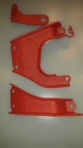 Crinkle Red 3000gt Engine Hoist Brackets Powdercoated