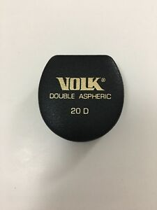 Volk 20d Lens Double Aspheric Perfect Condition Made In Usa