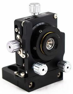 Newport 910a Optical Laser Translation Stage Compact Five axis Spatial Filter