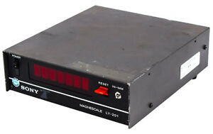 Sony Magnescale Ly 201 Industrial lab Benchtop Digital Readout Display 2