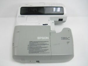 Epson Powerlite 450w Multimedia Lcd Projector Model H318a Missing Parts