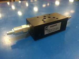 P05msv xc 150 aa b Cross Port Relief Continental Hydraulics