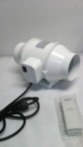 Hon guan 4 Inch Extractor Fan High Efficiency Mixed Flow Ventilation System